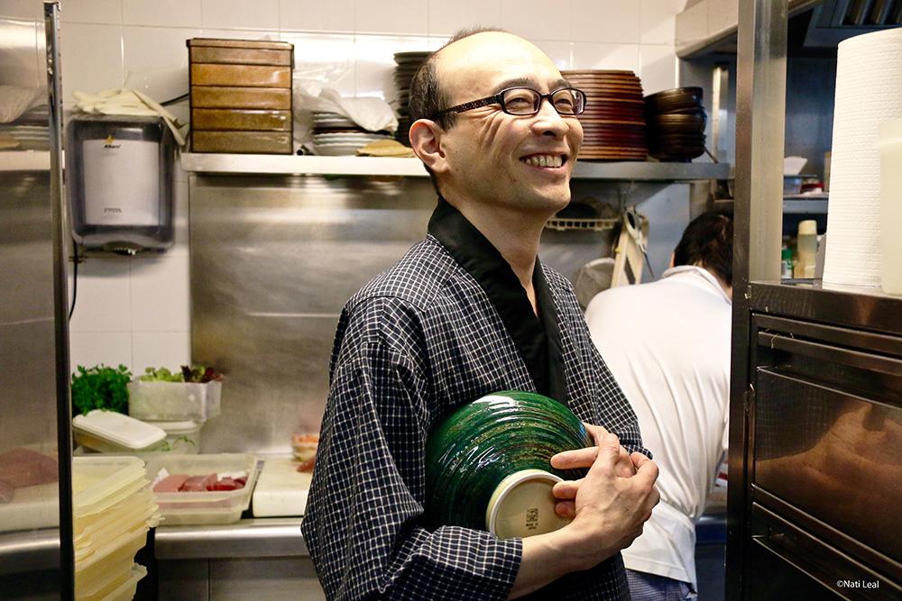 Hitoshi Ikenaga, el Chef de Janatomo