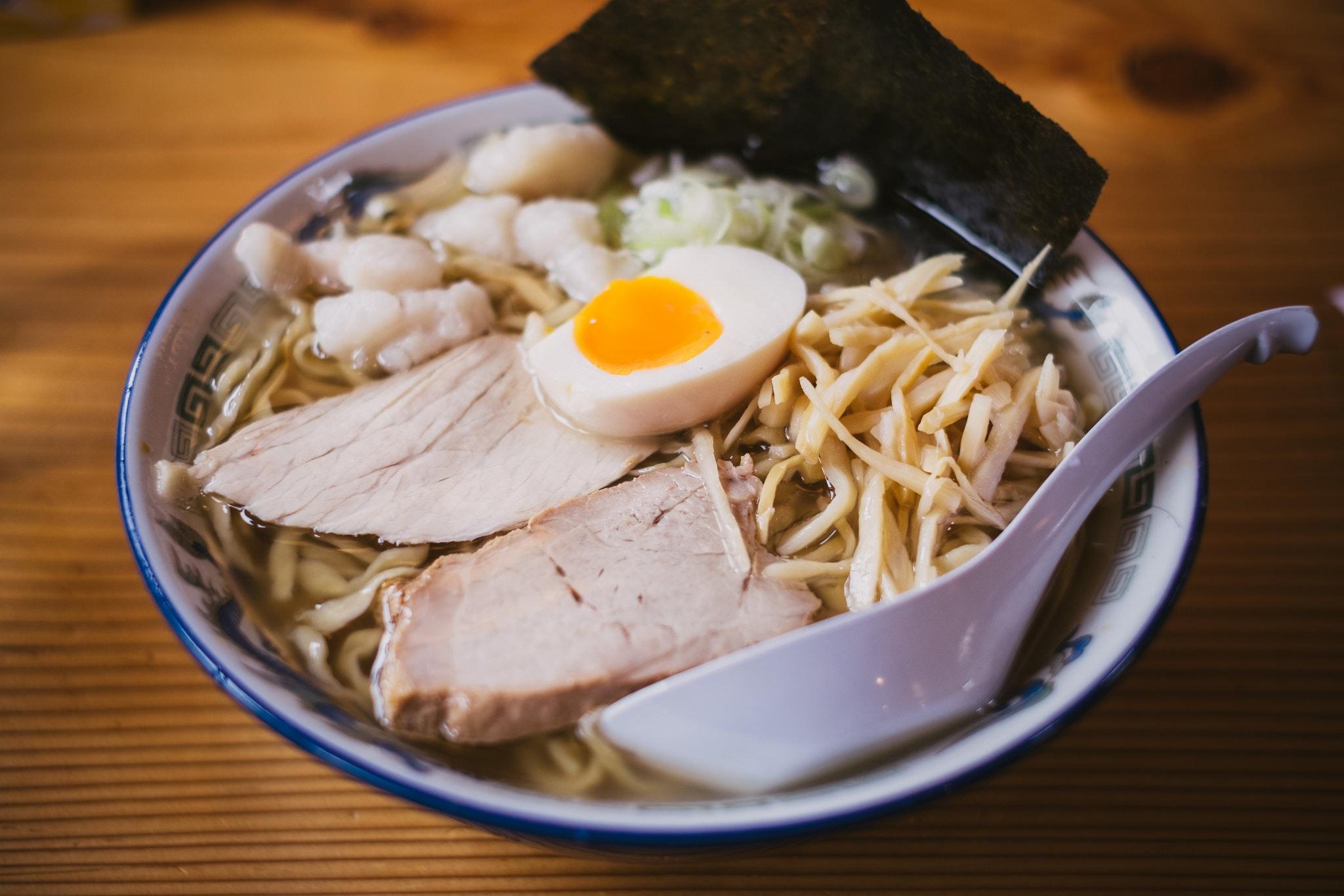 Ramen o cocido japonés. Janatomo