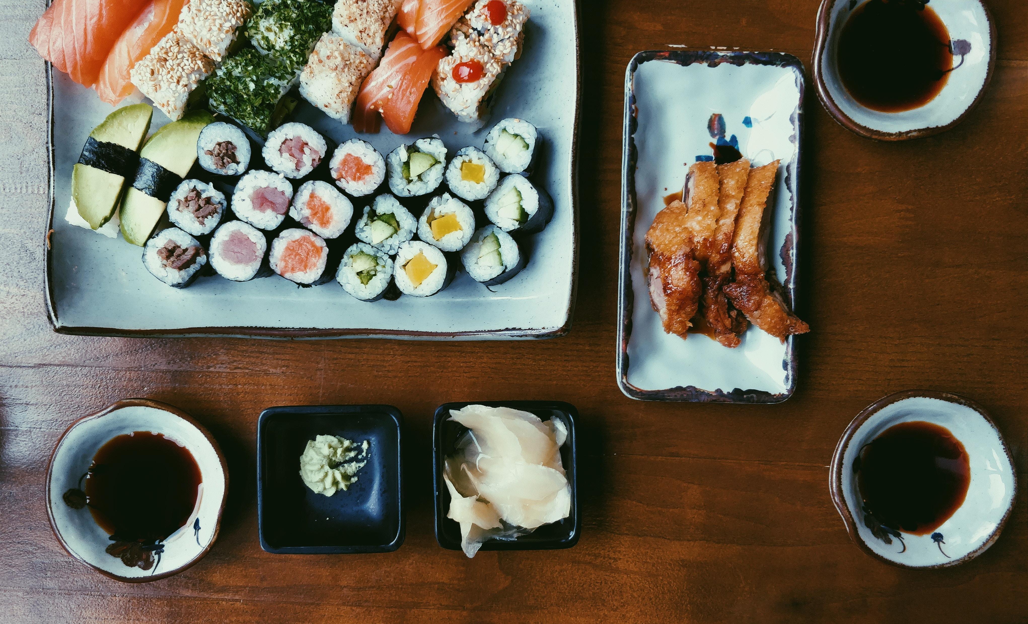 condimentos comida japonesa. Janatomo
